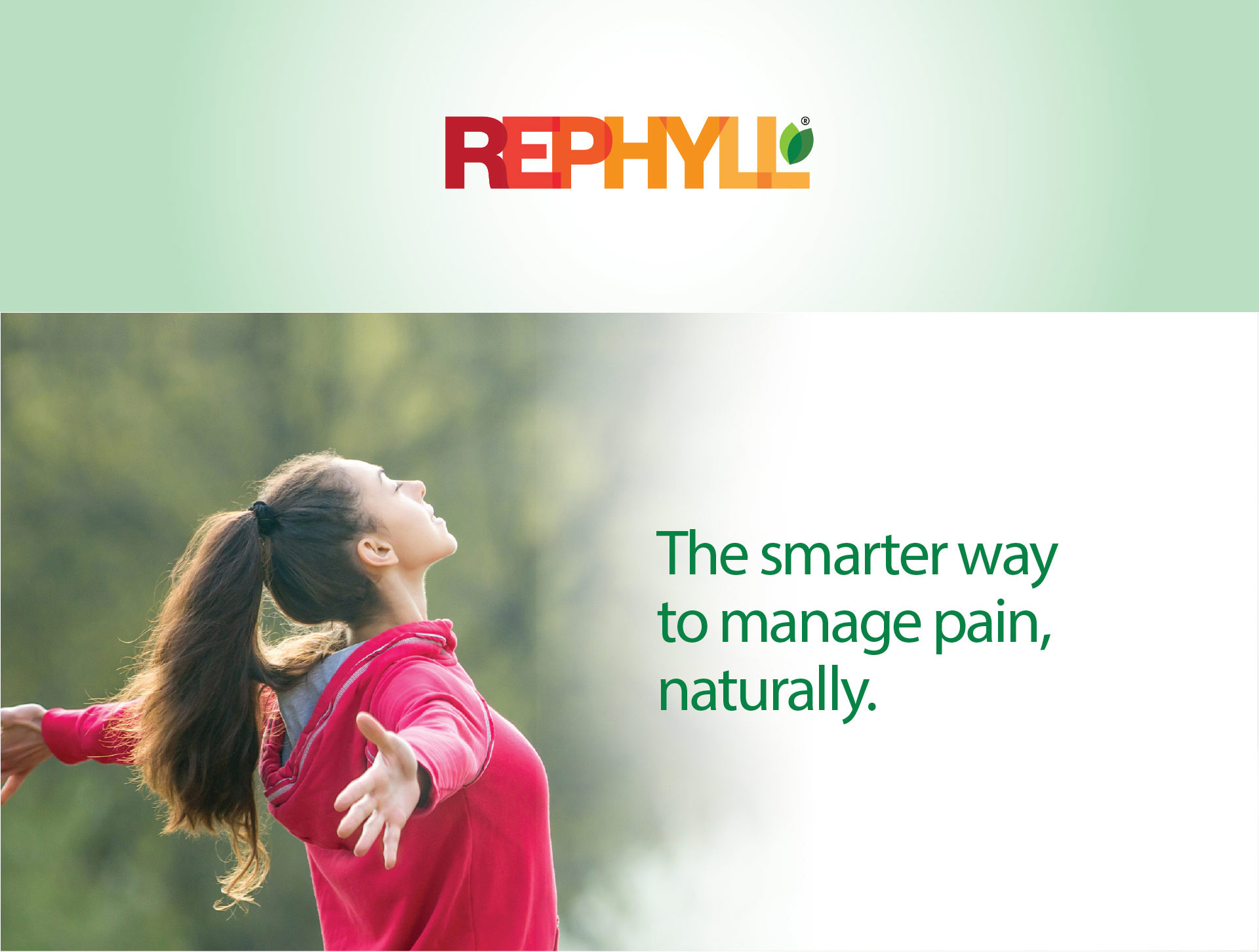 The smarter way to manage pain, naturally.